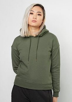 Urban Classics Hooded-Sweatshirt Ladies olive