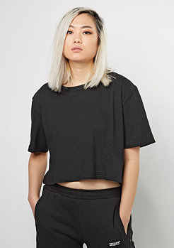 T-Shirt Short Oversized black