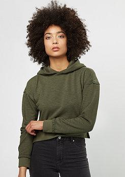 Hooded-Sweatshirt Short Slub Terry olive