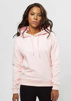 Urban Classics Hooded-Sweatshirt light rose