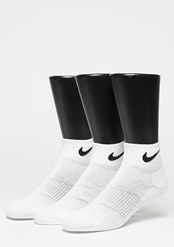 NIKE NK Cush QT 3er Pack white/black