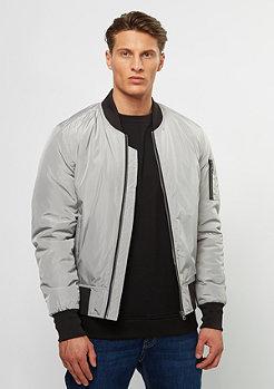 Urban Classics 2-Tone Bomber Jacket silver/black