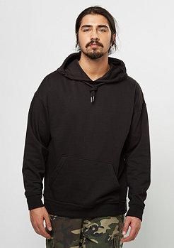 Hooded-Sweatshirt Oversized black