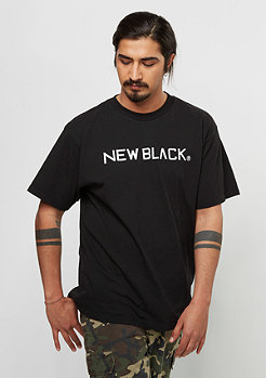 New Black Logo Tee black