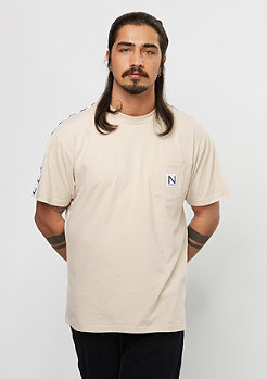 New Black Equator Tee beige