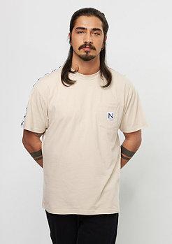 New Black T-Shirt Equator beige
