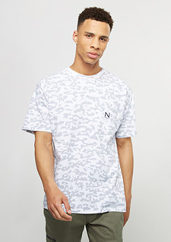New Black T-Shirt Bush white
