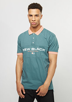 New Black Polo Sport Tennis aqua