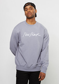 New Black Sweatshirt Signature Crew syringa
