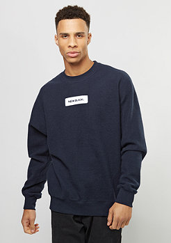 New Black Sweatshirt Little Logo navy