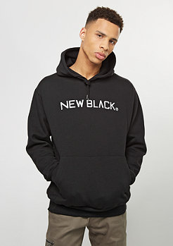 New Black Hooded-Sweatshirt Logo black