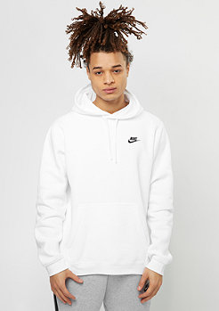 NIKE Hooded-Sweatshirt Sportswear white/white/black