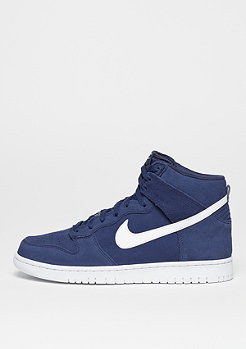 NIKE Basketballschuh Dunk Hi binary blue/white