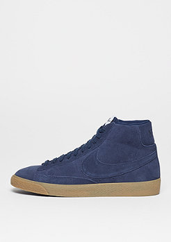 NIKE Schuh Blazer Mid-Top Premium binary blue/binary blue/light brown