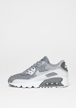 NIKE Schuh Air Max 90 Mesh (GS) cool grey/wolf grey/pure platinum