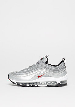 NIKE Schuh Air Max 97 (GS) metallic silver/varsity red/white