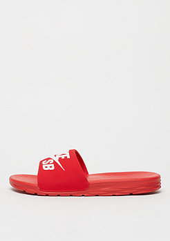 NIKE SB Badeschlappe Benassi Solarsoft university red/white