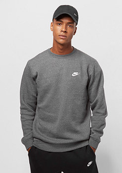 NIKE FLC Club charcoal heather/white