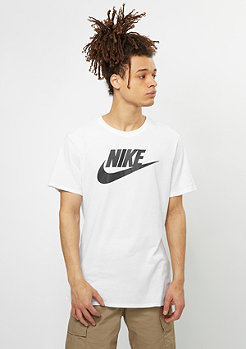 NIKE T-Shirt Futura Icon white/white/black