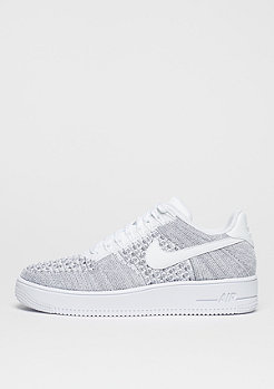 NIKE Air Force 1 Flyknit Low cool grey/white/white