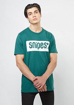 SNIPES Box Logo jasper green/white