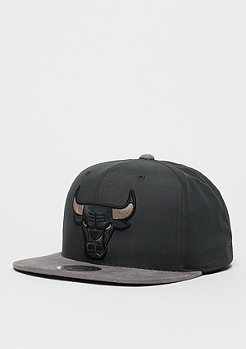 Mitchell & Ness Snapback-Cap Buttery NBA Chicago Bulls charcoal/grey