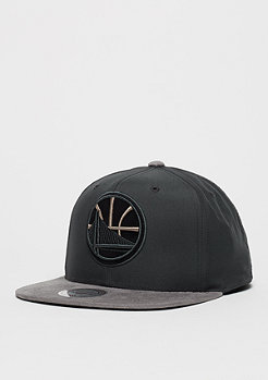 Mitchell & Ness Snapback-Cap Buttery NBA Golden State Warriors charcoal/grey