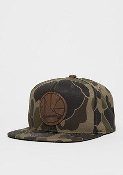 Snapback-Cap Lux NBA Golden State Warriors camo