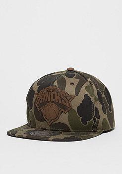 Snapback-Cap Lux NBA New York Knicks camo