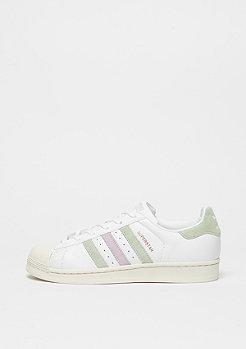 adidas Schuh Superstar white/linen green/ice purple