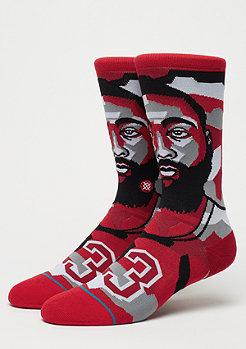 Stance NBA Legends Mosaic Harden red