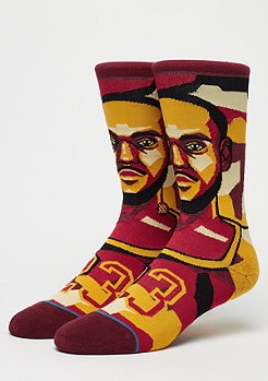 Stance NBA Legends Mosaic Lebron burgundy