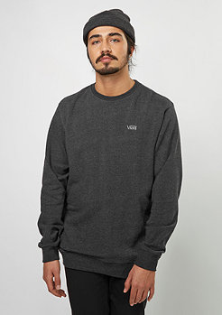 VANS Sweatshirt Core Basics Crew Fleece IV black heather