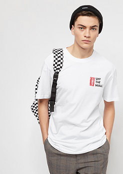 VANS T-Shirt Off The Wall III white