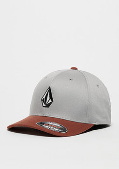 Volcom Baseball-Cap Full Stone XFit white/orange