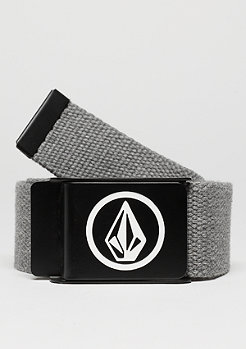 Volcom Gürtel Circle Web charcoal heather
