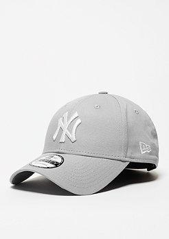 New Era Baseball-Cap 9Forty League Basic MLB New York Yankees grey/white