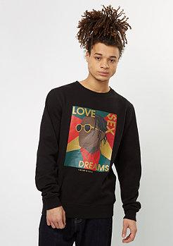 Sweatshirt WL Crew Dreams black