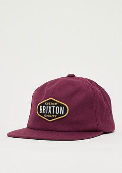 Brixton Oakland burgundy