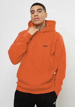SNIPES Sweat à capuche logo à la poitrine orange popsicle
