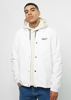SNIPES Coach Jacket white