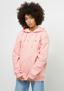 SNIPES Hooded-Sweatshirt Oversized silver pink