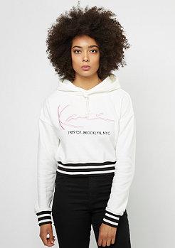 Karl Kani Hooded-Sweatshirt Retro marshmallow