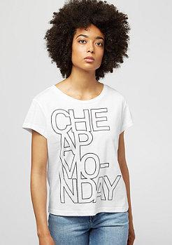 Cheap Monday Have Concrete Logo white