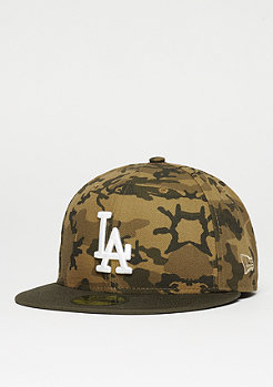 New Era Fitted-Cap 59Fifty Team MLB Los Angeles Dodgers desert camo