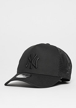 New Era Trucker-Cap A-Frame Essential Trucker MLB New York Yankees black/black