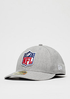 New Era 59Fifty League Logo Low NFL Generic Logo heather grey