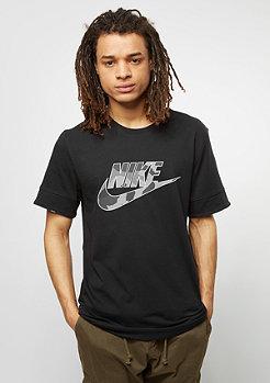 NIKE T-Shirt Camo RS black
