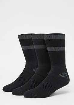 NIKE SB Crew Skateboarding Socks 3er black/anthracite