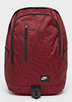 NIKE All Access Soleday Print dark team red/black/white